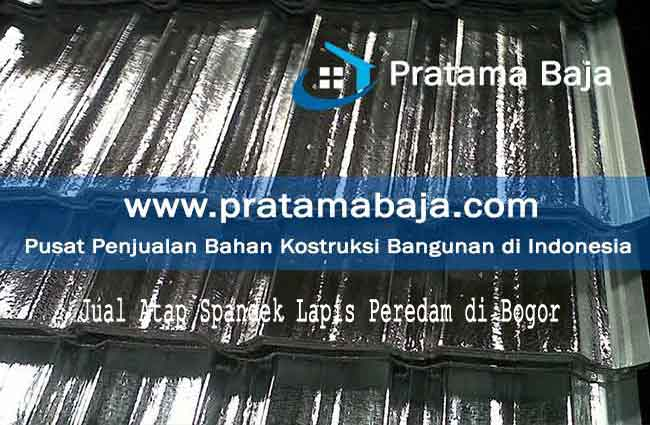 harga atap spandek lapis peredam Bogor
