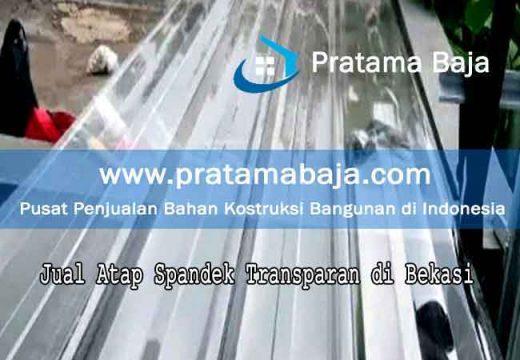 harga atap spandek transparan Bekasi