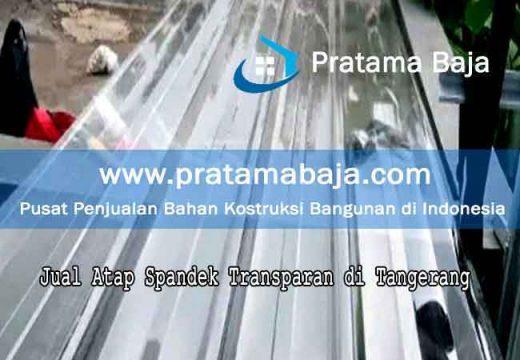 harga atap spandek transparan Tangerang