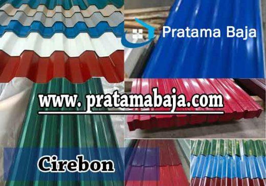 harga atap spandek warna Cirebon