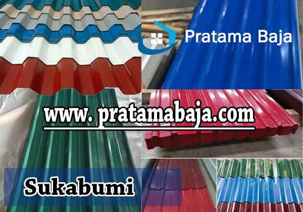 harga atap spandek warna Sukabumi