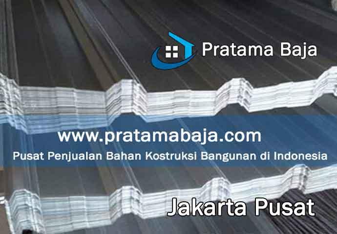 harga seng gelombang Jakarta Pusat
