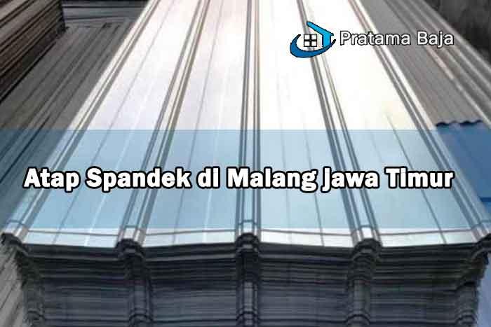 harga atap spandek Malang