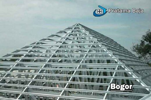 harga pasang baja ringan Bogor
