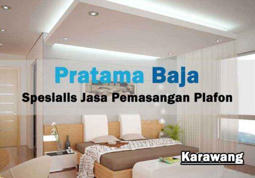 harga pasang plafon Karawang